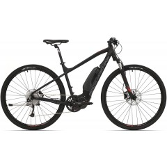 elektrokolo Rock Machine CrossRide e500 mat black/brick red/dark grey